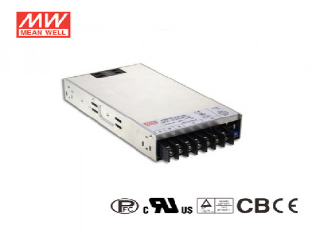 內建主動式功率因數矯正功能電源供應器 HRP系列