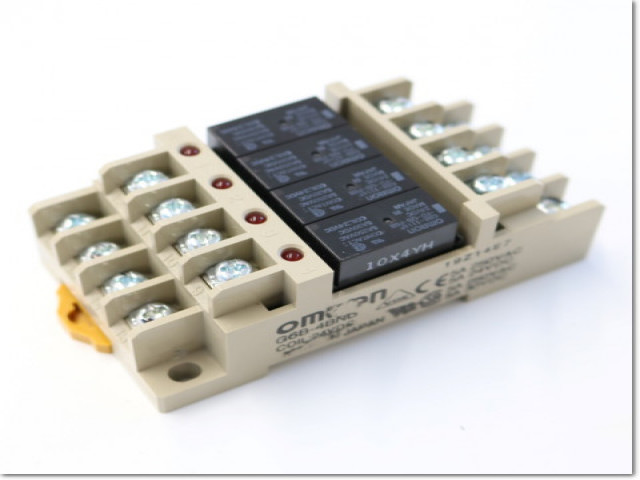OMRON 繼電器模組 G6B-4BND